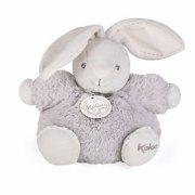 lille tyk kanin bamse - perle i grå fra kaloo - Bamser