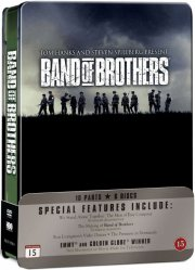 kammerater i krig / band of brothers tin box - hbo - DVD
