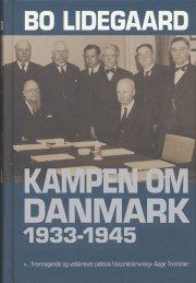 kampen om danmark 1933-1945 - bog