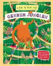 kan du finde vej? - gennem junglen - bog