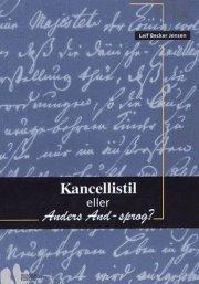 kancellistil eller anders and-sprog? - bog