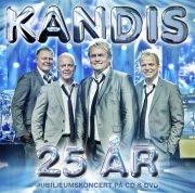 kandis - 25 års jubilæum  - cd+dvd