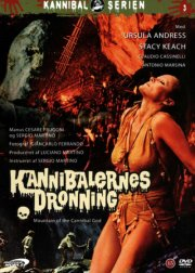 kannibalernes dronning / the mountain of the cannibal god - DVD