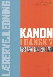 kanon i dansk 7. lærervejledning - bog