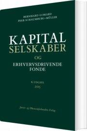 kapitalselskaber og erhvervsdrivende fonde - bog