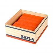 kapla klodser - orange - 40 stk - Byg Og Konstruér