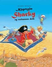 kaptajn sharky og sultanens dolk - bog