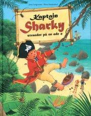 kaptajn sharky strander på en øde ø - bog
