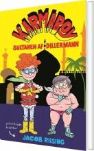 karmaboy - sultanen af dillermann - bog
