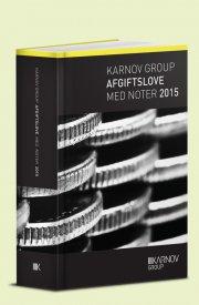 karnov group afgiftslove med noter 2015 - bog