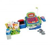 legetøjs kasseapparat / lege kasseapparat med tilbehør - Rolleleg