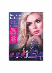 katherine jenkins - believe - live from the o2 - DVD