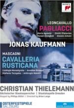 kaufmann jonas mascagni: cavalleria rusticana - leoncavallo: pagliacci - DVD