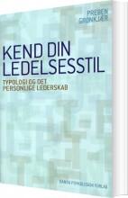 kend din ledelsesstil - bog
