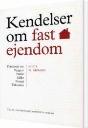 kendelser om fast ejendom 2013/4 - bog