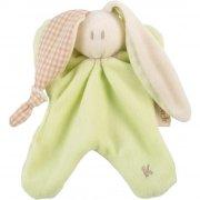 keptin-jr sutteklud / nusseklud - kanin - grøn - Babylegetøj