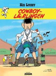 kid lucky: cowboy-lærlingen - bog