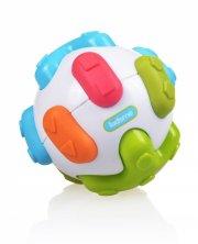 aktivitetsbold til baby med dyrelyde - kidsme - Babylegetøj
