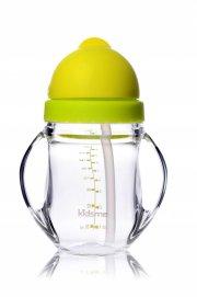 kop - kidsme - tritan kop med sugerør - lime - Babyudstyr