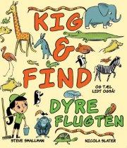 kig & find - dyreflugten - bog