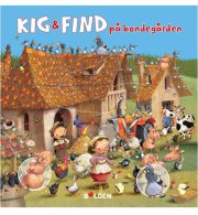 kig & find på bondegården - bog