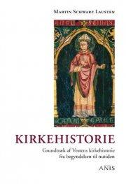 kirkehistorie - bog