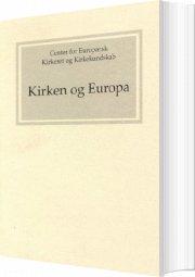 kirken og europa - bog