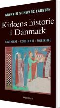 kirkens historie i danmark - bog