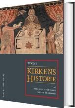 kirkens historie i-ii - bog