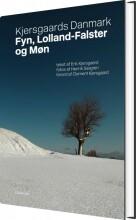 kjersgaards danmark - fyn, lolland-falster og møn - bog