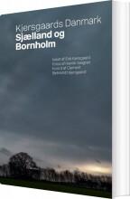 kjersgaards danmark - sjælland og bornholm - bog