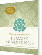 klassisk mindfulness - bog