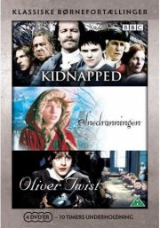 oliver twist // kidnapped // snedronningen - bbc - DVD
