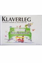 klaverleg for børn, forældre og bedsteforældre  - grøn