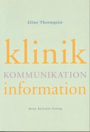 klinik, kommunikation, information - bog