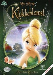 klokkeblomst / tinkerbell - disney - DVD