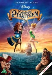 klokkeblomst og piratfeen - DVD