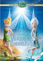 klokkeblomst: vingernes hemmelighed - disney - DVD