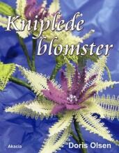 kniplede blomster - bog