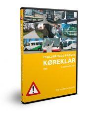 køreklar - evaluerende prøver - bus - d - CD Lydbog