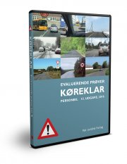 køreklar - evaluerende prøver - personbil 15. udg - bog