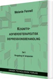 kognitiv-adfærdsterapeutisk depressionsbehandling. en brugsbog til terapeuten - bog