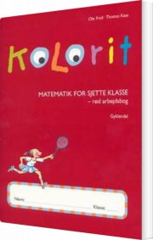 kolorit 6. klasse, rød arbejdsbog - bog