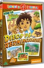 kom så diego / go diego go - diego på redningssafari - DVD
