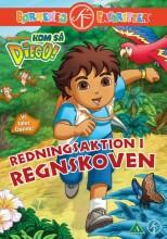kom så diego / go diego go- redningsaktion i regnskoven - DVD