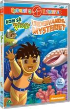 kom så diego - undervandsmysteriet - DVD