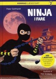 kommas læsestart: ninja i fare - niveau 2 - bog