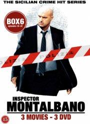 kommissær montalbano - box 6 - episode 16-18 - DVD