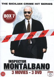 kommissær montalbano - box 7 - episode 19-21 - DVD