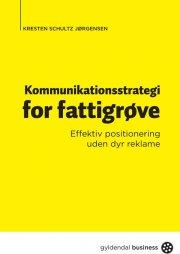 kommunikationsstrategi for fattigrøve - bog
